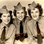 Carmen Miranda and The Andrews Sisters